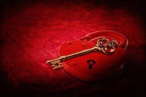 coeur clef