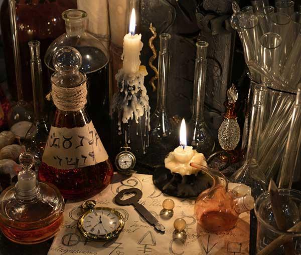 travaux occultes et sorcellerie